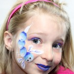 Giggle Loopsy Dragon Fly Face Painting