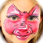 pig face painting