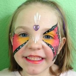 Orange Mask Giggle Loopsy Denver area face painting