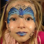 Blue Crown Giggle Loopsy Denver area face painting