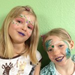 Face painting duo Giggle Loopsy Denver area clown
