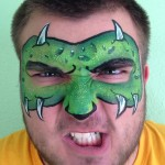 Monster Giggle Loopsy Denver area face painting