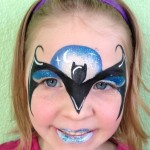 Batman Girl Giggle Loopsy Denver area face painting