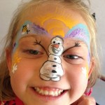 Frozen Face Painting Olaf Giggle Loopsy